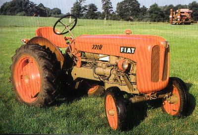 Tractor Fiat 221 R Tractores