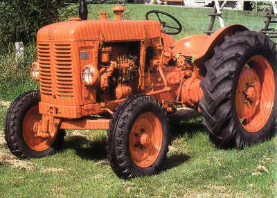 Tractor Fiat 25 RD Tractores
