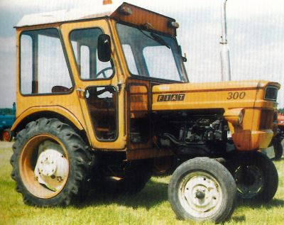 Tractor Fiat 300 Tractores