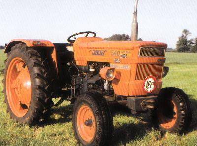 Tractor Fiat 540 Spezial Tractores