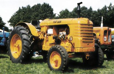 Tractor Fiat 80 R Tractores