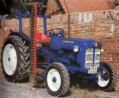 Tractor Fordson Dexta Tractores