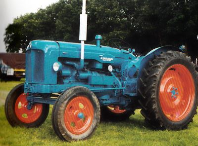 Tractor Fordson New Major Tractores