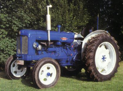 Tractor Fordson Power Major Tractores