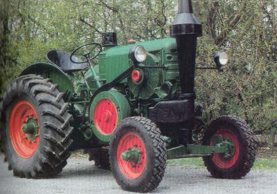 Tractor HSCS Le Robuste R 30/35 Tractores