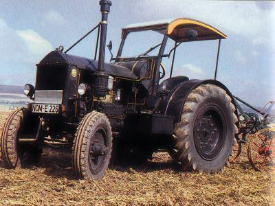 Tractor Hanomag AR 38 Tractores
