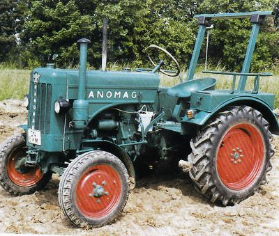 Tractor Hanomag R 16 A Tractores
