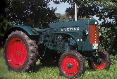 Tractor Hanomag R 19 Tractores