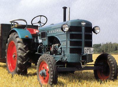 Tractor Hanomag R 28 B Tractores