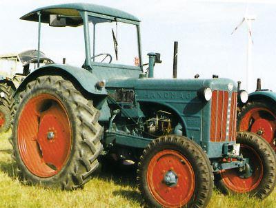 Tractor Hanomag R 35 A Tractores