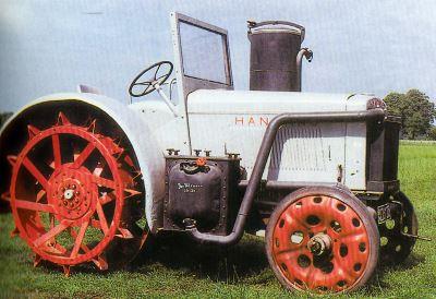 Tractor Hanomag R 40 Holzgas Tractores
