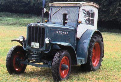Tractor Hanomag R 40 Tractores