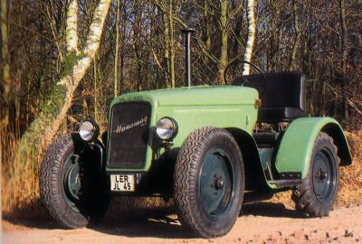 Tractor Hanomag RL 20 Tractores