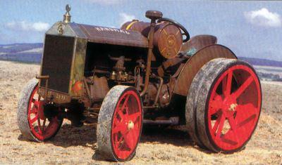 Tractor Hanomag WD R 28/32 Tractores