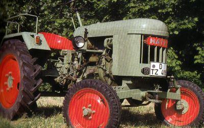Tractor Hatz TL 12 Tractores