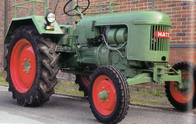 Tractor Hatz TL 22 Tractores