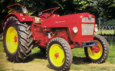 Tractor Hela D 548 Tractores