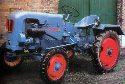 Tractor Hummel DT 54 Tractores