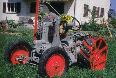 Tractor Hurlimann 1 K 8 Tractores