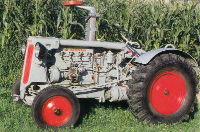 Tractor Hurlimann D 200 Tractores