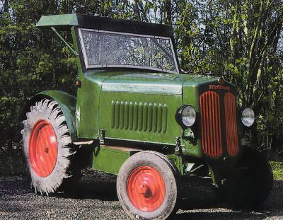Tractor Hurlimann D 400 Tractores