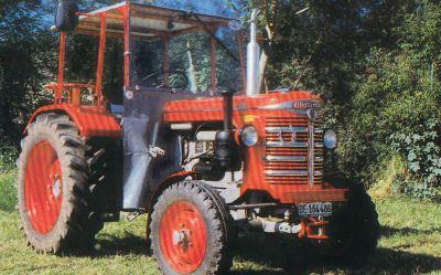 Tractor Hurlimann D 90 Tractores