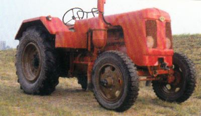 Tractor IFA RS 01/40 II Harz Tractores