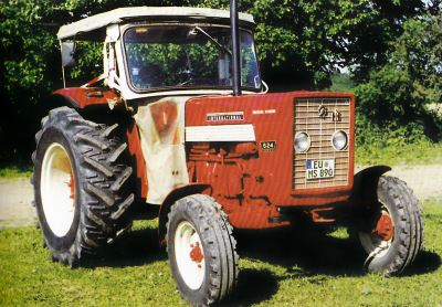 Tractor IH 624 Tractores