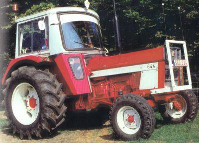 Tractor IH 644 Tractores