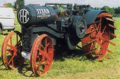Tractor International 10-20 Titan Tractores