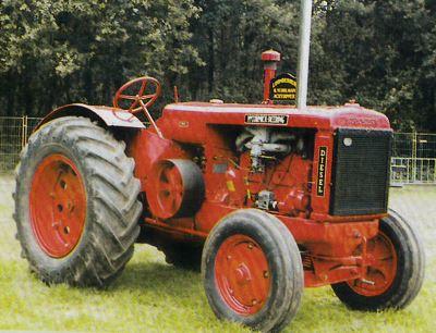 Tractor International Harvester McCormick-Deering WD 40 Tractores