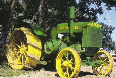 Tractor Jhon Deere 10-20 GP Tractores