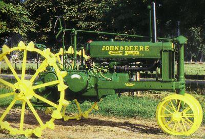 Tractor Jhon Deere B Tractores