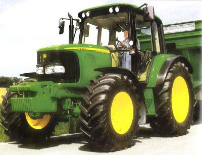 Tractor John Deere 6420 S Tractores