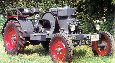Tractor Kramer K 12 Tractores