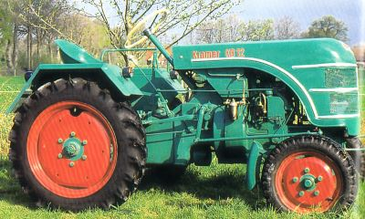 Tractor Kramer KB 12 Tractores