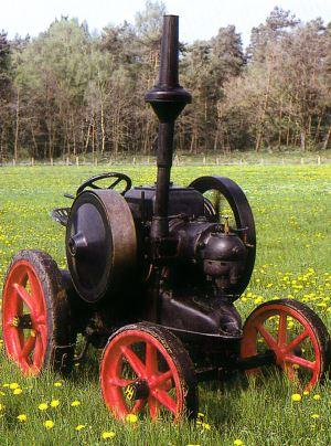 Tractor Lanz 12 CV, tipo HL Tractores