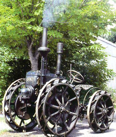 Tractor Lanz 12 CV, tipo HP Tractores