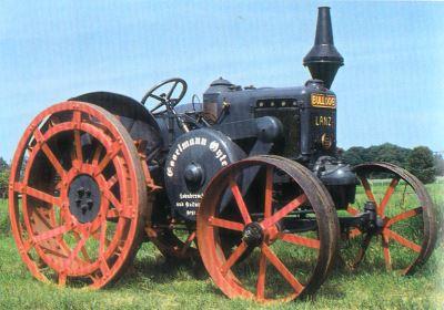 Tractor Lanz 15/30 CV, tipo HR 5 Tractores