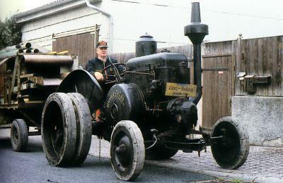 Tractor Lanz 22/28 CV, tipo HR 2 Tractores