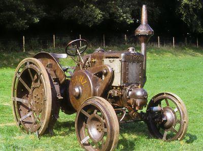 Tractor Lanz 22/38/44 CV, tipo HR 6 Tractores