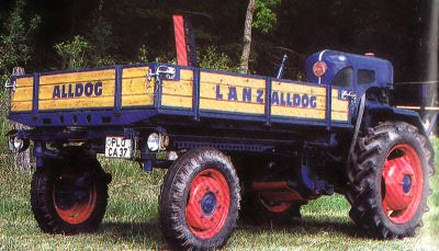 Tractor Lanz-Alldog A 1806 Tractores