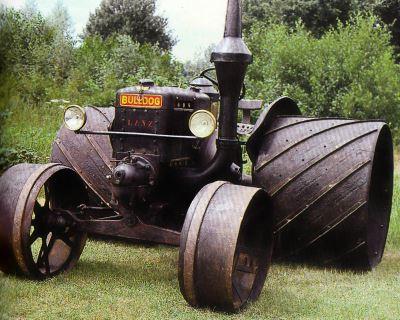 Tractor Lanz Bulldog 15/30 CV, tipo HR 5 Tractores