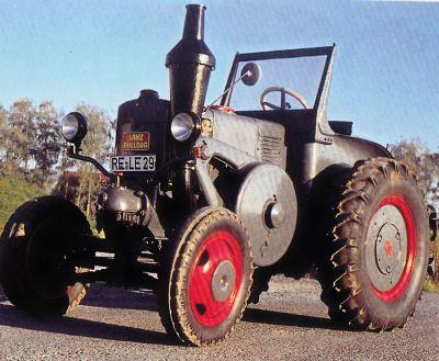 Tractor Lanz-Bulldog 30 CV, tipo D 8506 Tractores