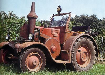 Tractor Lanz-Bulldog 35 CV, tipo D 8539 Tractores