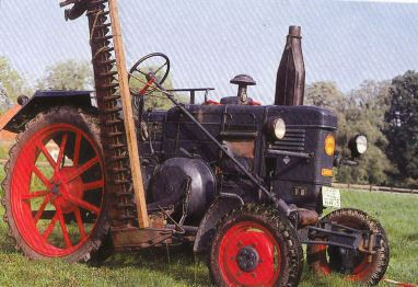 Tractor Lanz-Bulldog D 1706 Tractores
