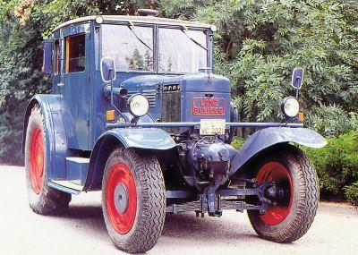 Tractor Lanz-Bulldog D 2539 Tractores