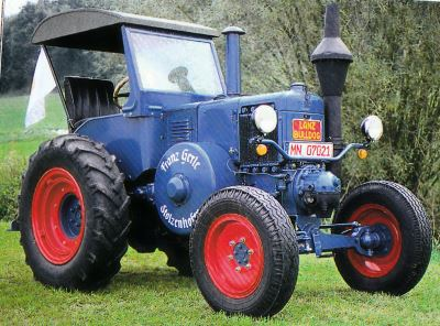 Tractor Lanz-Bulldog D 9506 Tractores