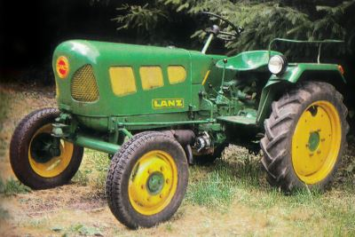 Tractor Lanz D 1206 Tractores