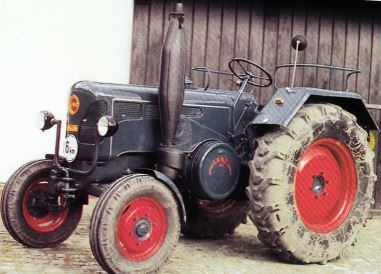 Tractor Lanz D 2816 Tractores
